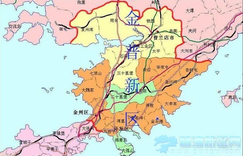 国务院同意设大连金普新区 深化与东北亚各国合作图片